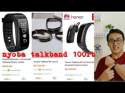 Smartband Y3 FAKE Ala Huawei Honor Talkband B3 Canggih Dari Masa Depan