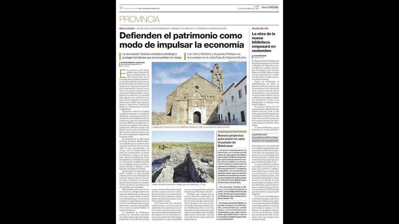 Entrevista Cadena COPE Pozoblanco_29/09/2021