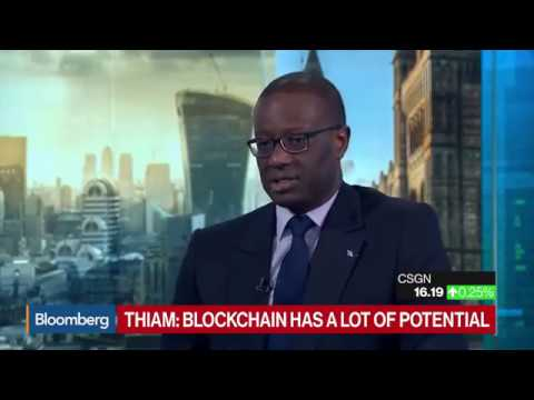 Credit Suisse CEO talks about Bitcoin and IOTA