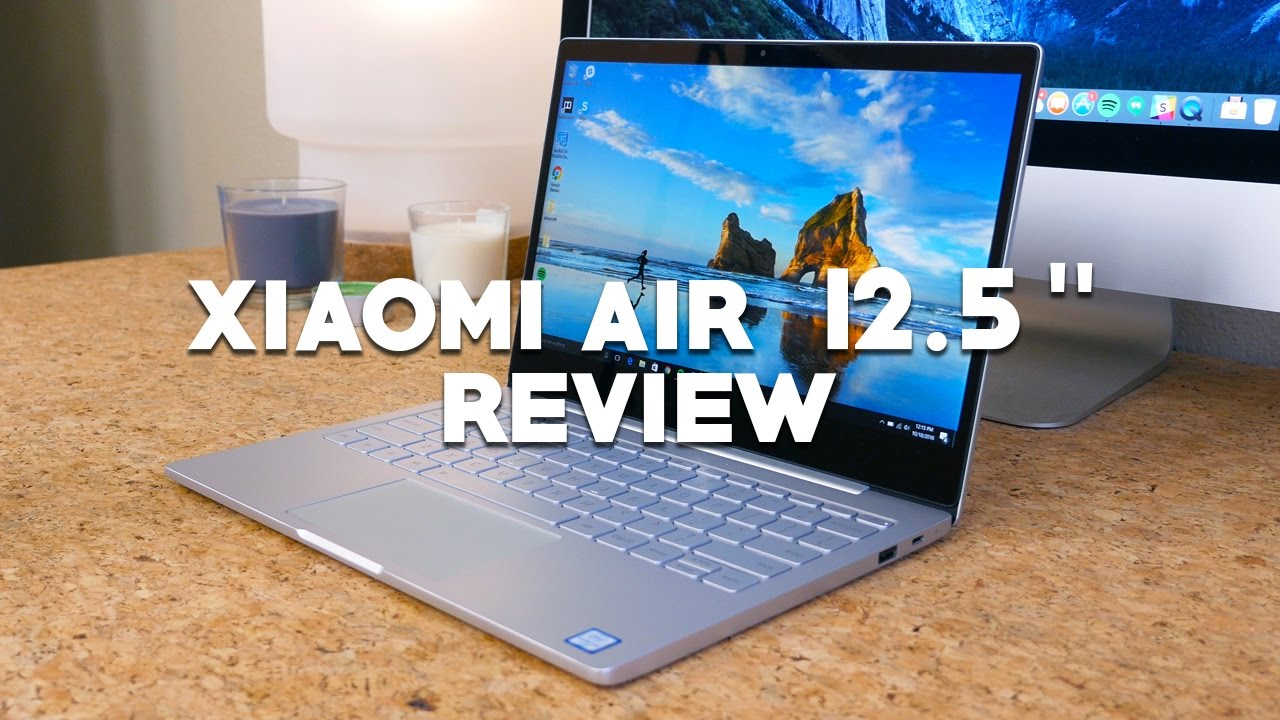 xiaomi air 12 laptop review youtube. Black Bedroom Furniture Sets. Home Design Ideas