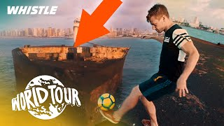 World's BEST Soccer Freestyler! | ABANDONED Shipwreck Freestyle