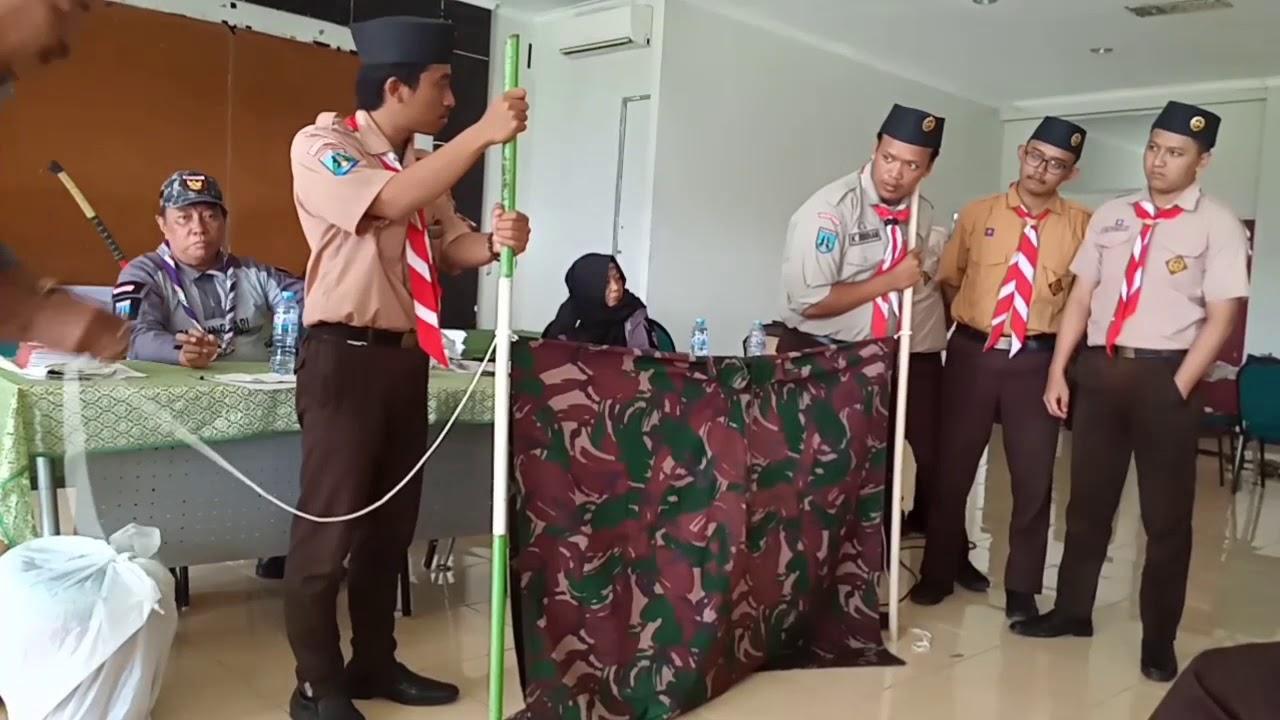 Cara Membuat Bivak Sederhana Dari Jas Hujan Mantel Ponco Bersama Kak Mudjianto Youtube
