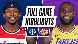 WIZARDS at LAKERS | FULL GAME HIGHLIGHTS | February 22, 2021