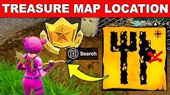 follow the treasure map signpost in junk junction location week 10 challenges fortnite season 8 duration 1 41 - follow the treasure map singpost fortnite season 8