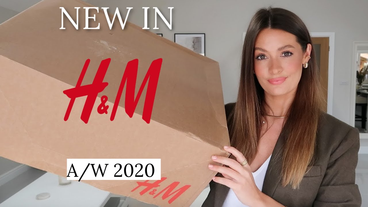 HUGE H&M HAUL TRY ON | BLACK FRIDAY NEW IN AUTUMN WINTER