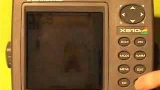 Формат Lowrance х-510C, X515C, ДФ ехолотів