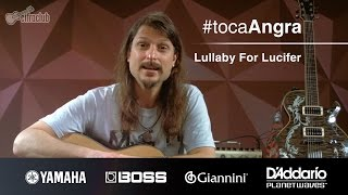#TocaAngra | Lullaby For Lucifer - Angra (aula de violão)