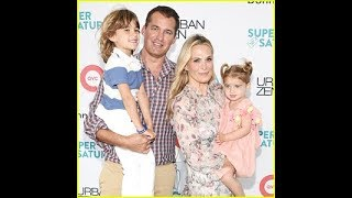 Molly Sims & Husband Scott Stuber Bring Their Kids to Benefit Event