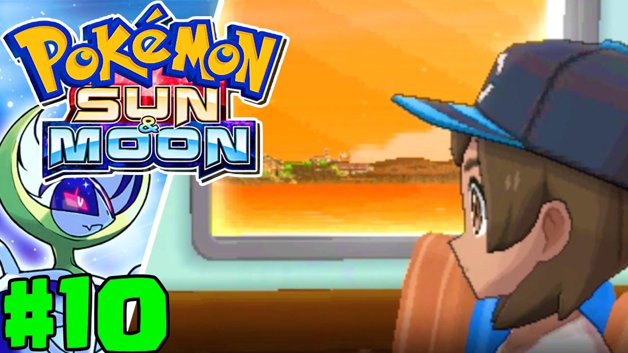 Discovering Ula' Ula Island   Pokémon Sun & Moon Gameplay Walkthrough Episode  10 (Nintendo 3DS) - YouTube