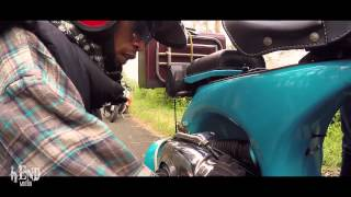 GoPro Vespa on the road with love , Bandung Indonesia