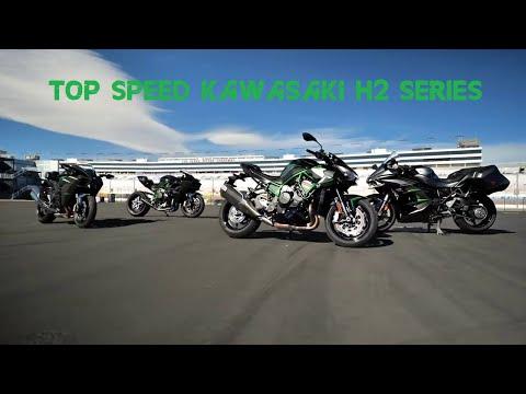 TOP SPEED KAWASAKI H2 SERIES ; KAWASAKI NINJA H2 SX, H2, H2R AND ZH2| FHD 1080p by AlwaysTopVideo