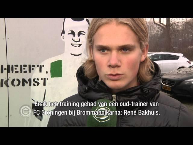 Jeugdinternational Hampus Finndell tekent contract met FC Groningen