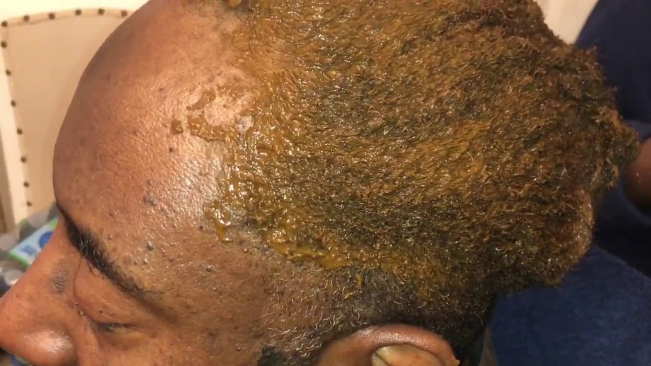 How To Apply Henna On Mens Hair Youtube
