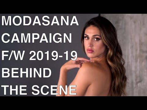 MODASANA | F/W 2018-19 | BTS CAMPAIGN | CECILIA RODRIGUEZ | EXCLUSIVE