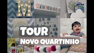 TOUR PELO QUARTINHO DO BEBÊ - MELISSA 1 ANO - NOVA DECORAÇÃO