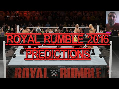 WWE Royal Rumble 2016 Predictions + 2K16 CPU Match