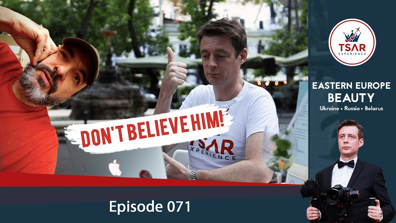 Don't believe Coach Red Pill's MYTHS about moving to Ukraine, Belarus & Russia | Vodka