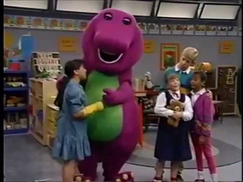 Barney's Red Blue & Circles Too's I Love You (Season 1 Version)