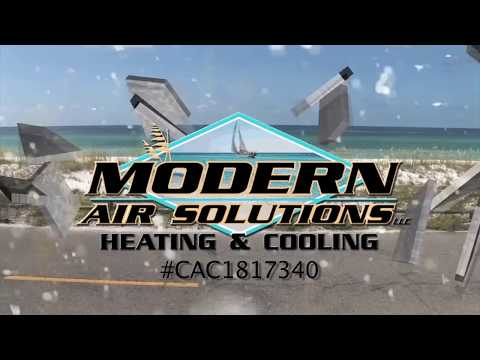 Modern Air Air Conditioners and Installation on New Homes Repair Panama City Beach FL