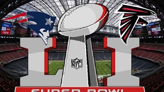 nfl super bowl 51 new england patriots vs atlanta falcons full game simulation