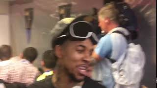 'I WENT FROM GETTING SNITCHED ON TO PUTTING A RING ON!' - Nick Young NBA finals