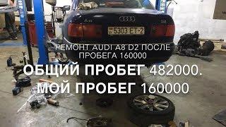#RR# AUDI A8 D2 - Жөндеу және қызмет көрсету кейін 160тыс
