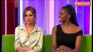 BBC The One Show 19/01/2019 Cheryl and Oti Mabuse
