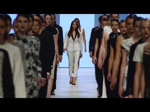 Jessica Gomes, Montana Cox & Samantha Harris in slow motion at LMFF 2013