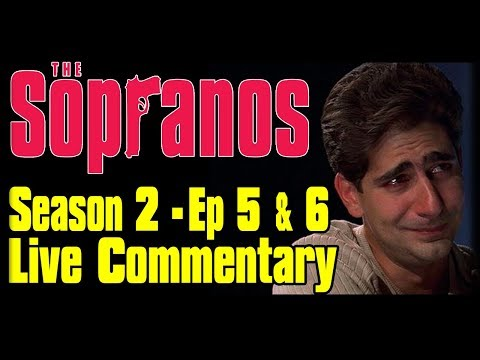 "The Sopranos Season 2 Episodes 5 ""Big Girls Don't Cry"" Live Commentary"