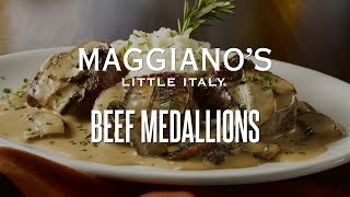 Maggiano's Beef Medallions