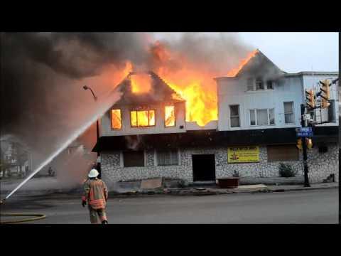 Buffalo FD 2nd Alarm - 5 Walden Ave