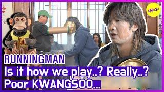 [HOT CLIPS] [RUNNINGMAN] Magic Monkey VS KWANGSOO! Who is game for?☠️ (ENG SUB)