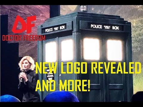 DOCTOR WHO NEWS - NEW LOGO REVEALED AND MORE!
