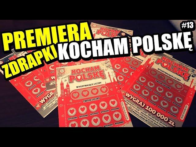 Zdrapki Lotto - KOCHAM POLSK? - PREMIERA !!! JEST DOBRZE :D