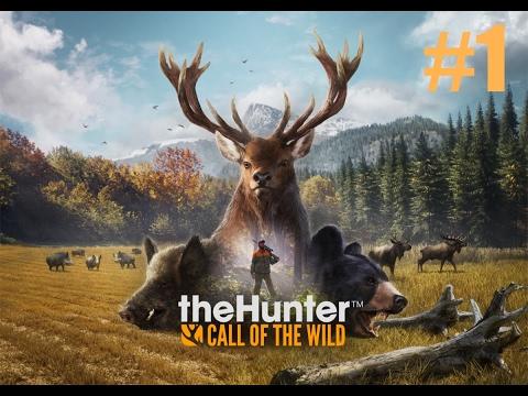 TheHunter Call Of The Wild прохождение. Часть 1 - Первые шаги