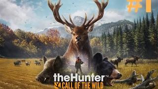 the Hunter Call of the Wild прохождение на русском. Часть 1 - Первые шаги