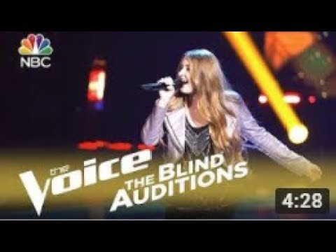 The Voice 2018 Blind Audition  Alexa Cappelli: Ive Got the Music in Me Reaction