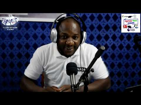 SPORTFM TV - PLATEAU FOOT EUROPE DU 08 AVRIL 2019 PRESENTE PAR ANGELO FOLLYKOE
