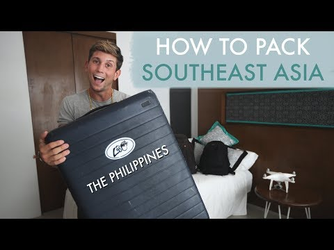 HOW TO PACK - TRAVELING SOUTHEAST ASIA