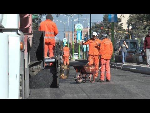 Los cortes de la Municipalidad para hacer obras generan un caos en el tránsito