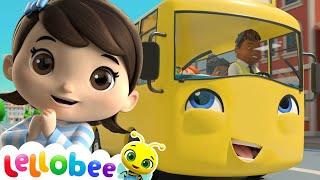 School Bus Song!   Little Baby Bum: Nursery Rhymes & Kids Songs ♫   ABCs & 123s