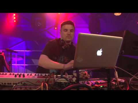 Dave Storm live @ Red Bull Stage, Positivus Festival 2015
