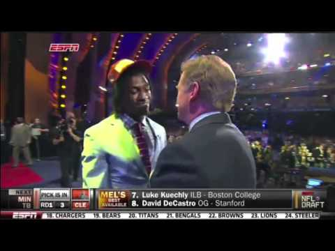 Robert Griffin III (RG3) drafted by Washington Redskins-2012 NFL Draft (HD)
