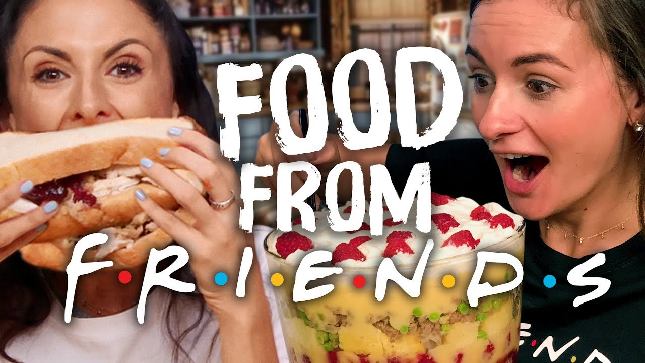FRIENDS Food Taste Test! (Cheat Day)
