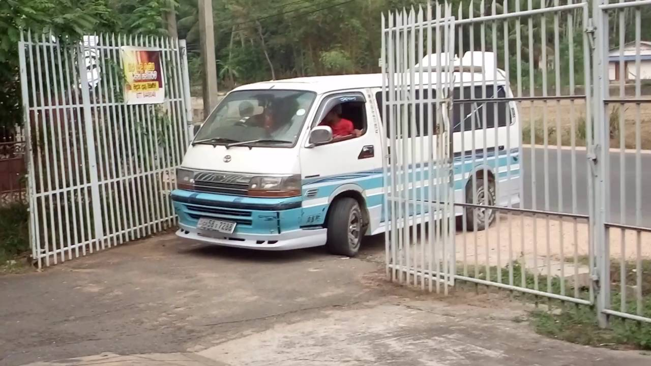 Toyota Hiace Modified Sri Lanka 2 Youtube
