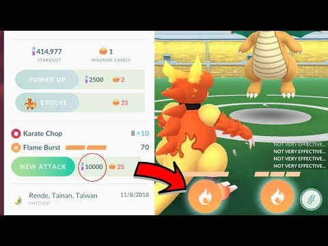 HOW TO GET A 2ND CHARGED MOVE FOR A REDUCED COST IN POKEMON