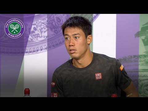 Kei Nishikori praises Novak Djokovic's display | Wimbledon 2018