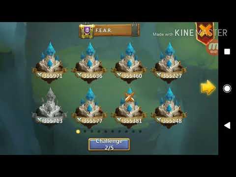 Castle Clash BS Vs Zen F.E.A.R