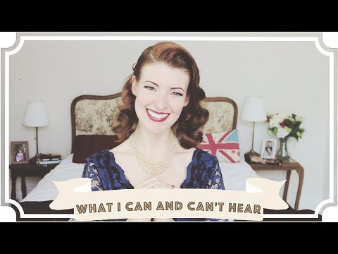 What I Can and Can't Hear // International Week of the Deaf [CC]