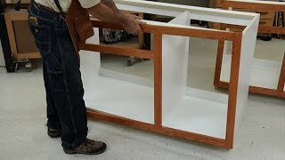 Face Frame Finishing Tips Woodworkers Guild of America